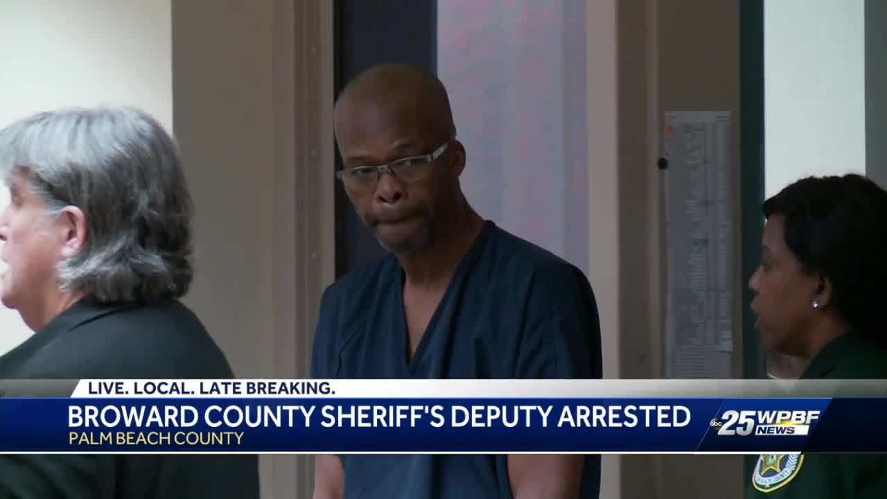Broward Sheriff's deputy arrested on charges of sexual battery against  7-year-old girl