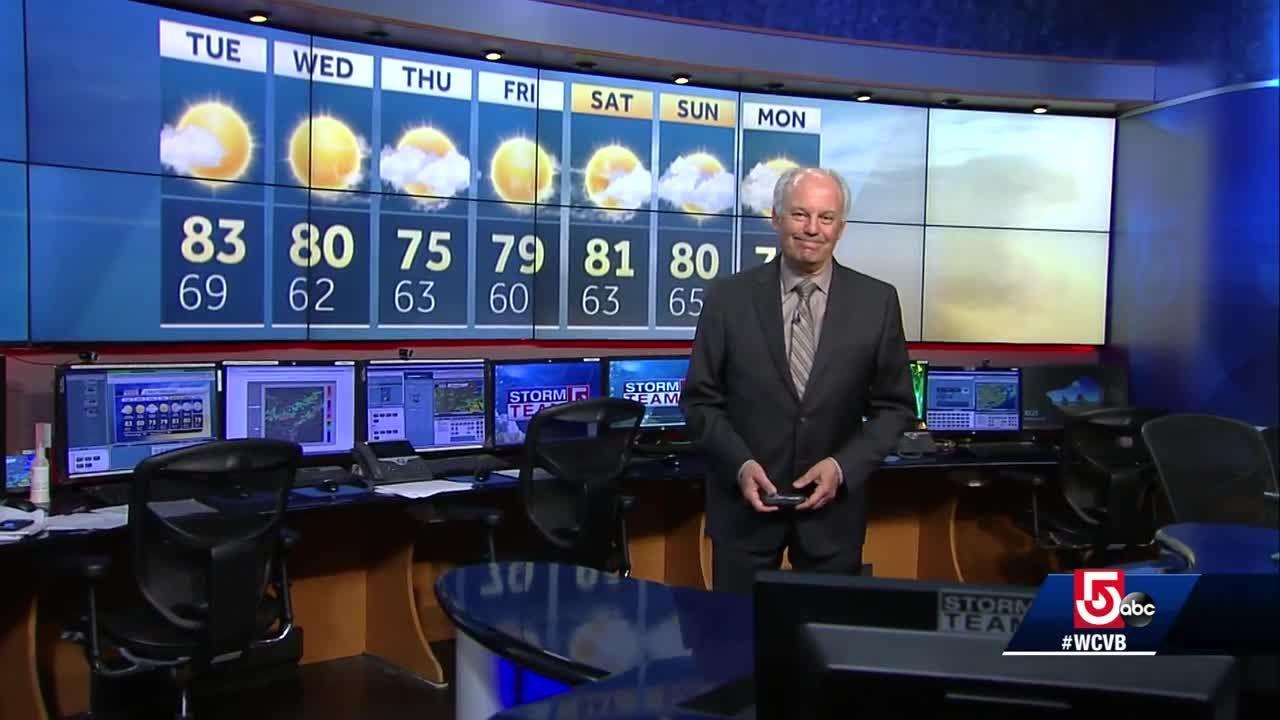Video: Cooler, more comfortable weather returns
