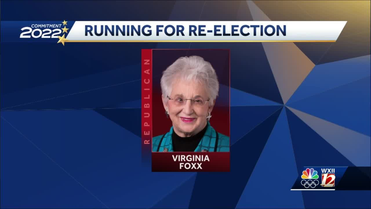 North Carolina Rep. Virginia Foxx announces reelection for 5th Congressional District