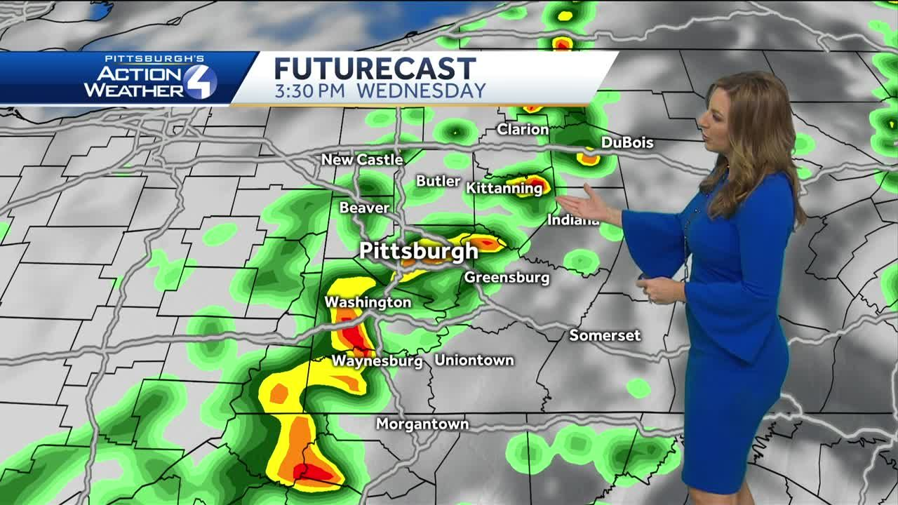 Pittsburgh's Action Weather forecast: tered storms continue ... on