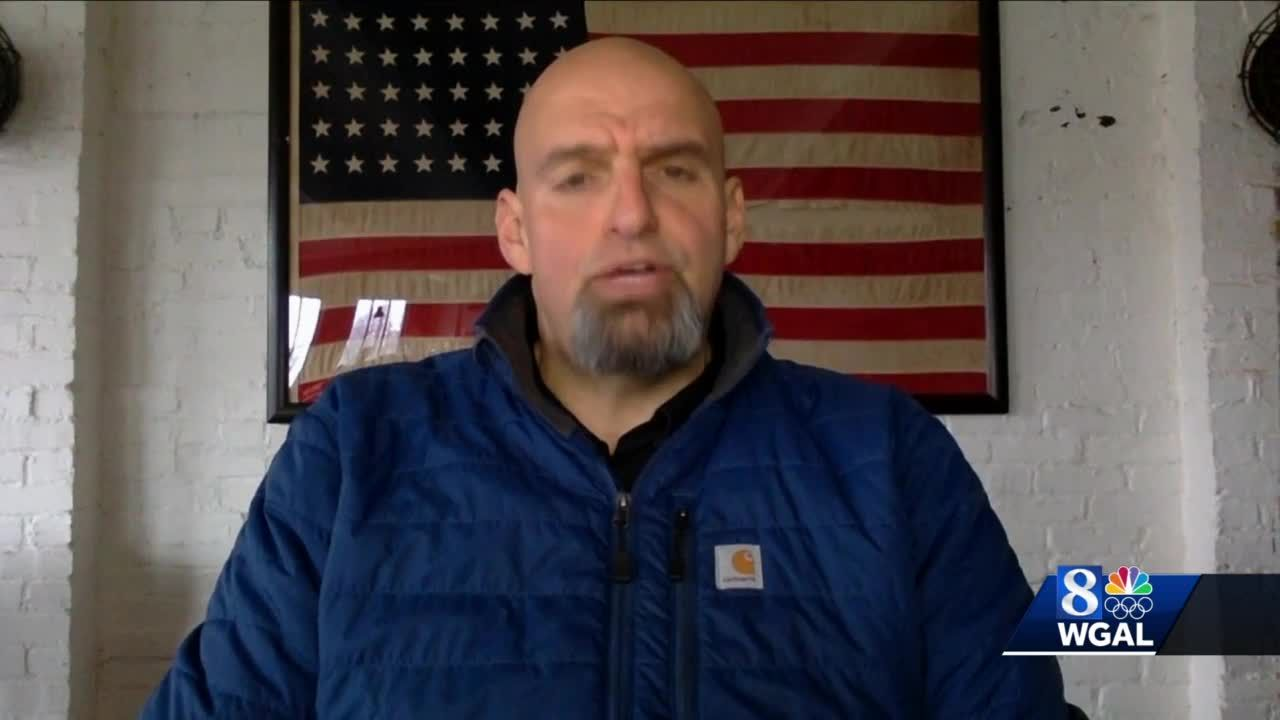 Lt. Gov. John Fetterman: 'Travel restrictions throughout Harrisburg have been implemented'