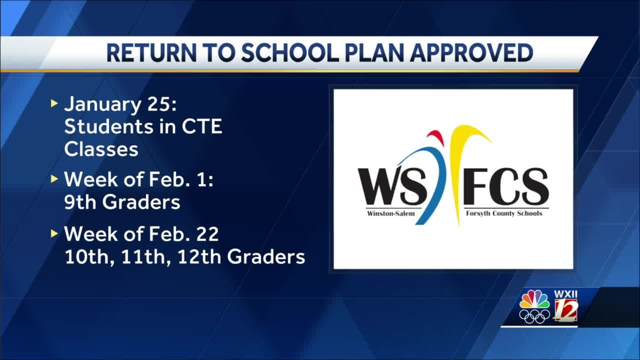 WS/FCS Board of Education votes to bring back freshmen students in cohorts, older grades delayed