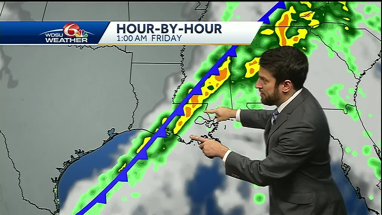 Flash Flood, Severe weather threat Thursday into Friday