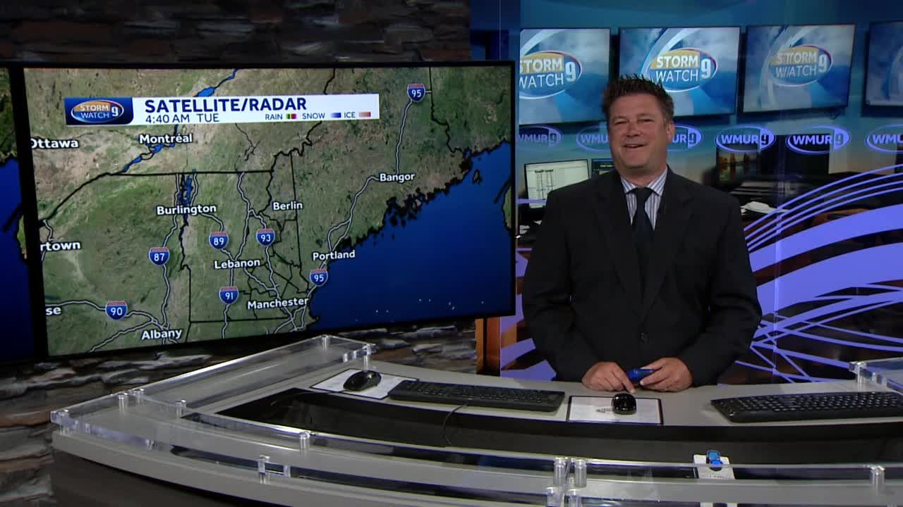 Video: Fair skies and dry conditions for Tuesday