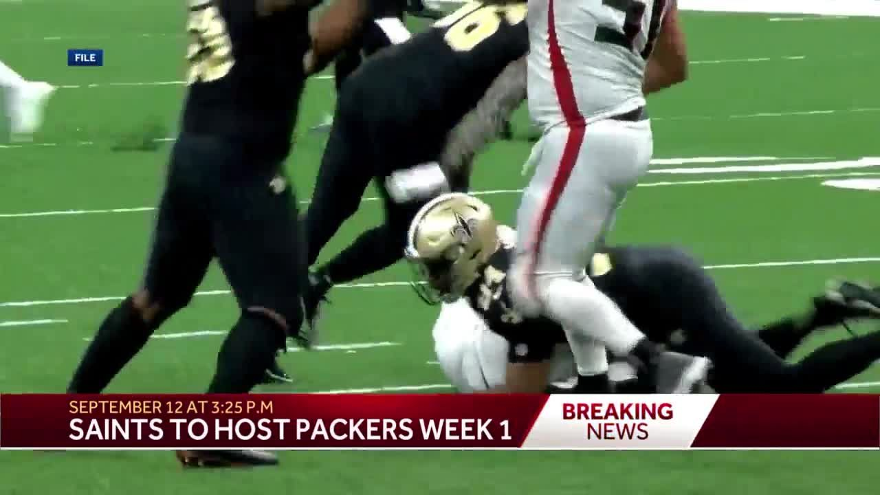 Saints to play Packers in home opener for 2021 season