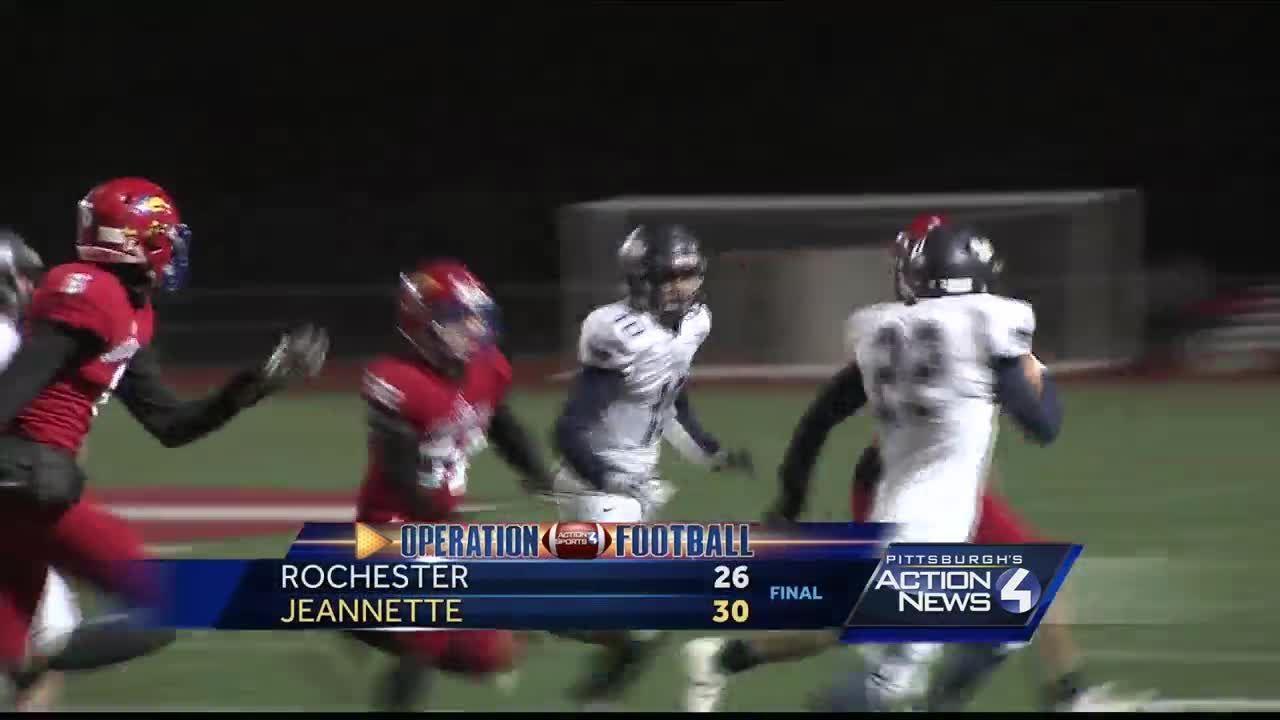Operation Football: Rochester vs  Jeannette highlights