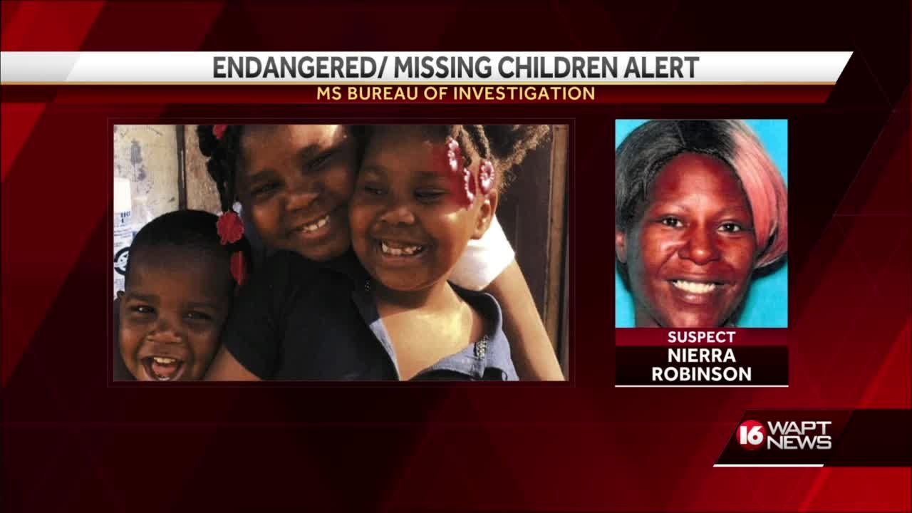 Search on for 4 missing Jackson children