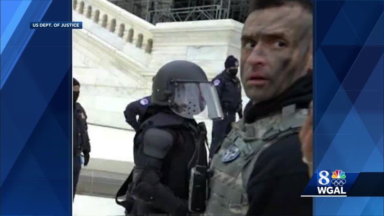 Lancaster County man charged with pepper spraying officer during Capitol attack