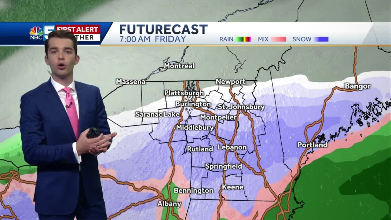Video: Snow possible Thursday night (10-26-20)