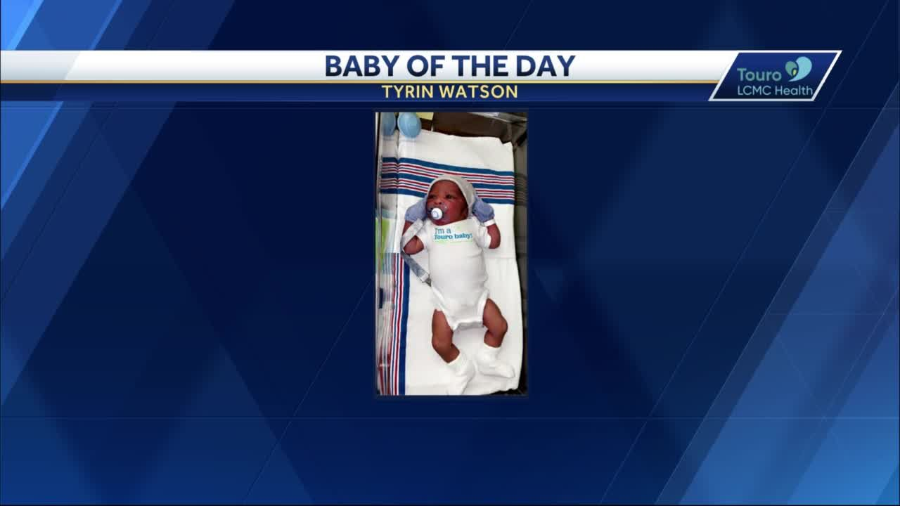WDSU Baby of the Day for April 15, 2021