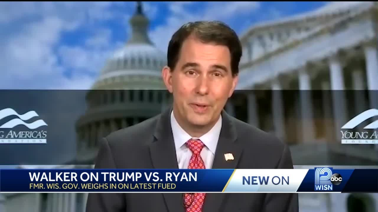 Walker says GOP 'can't be just about any one person'