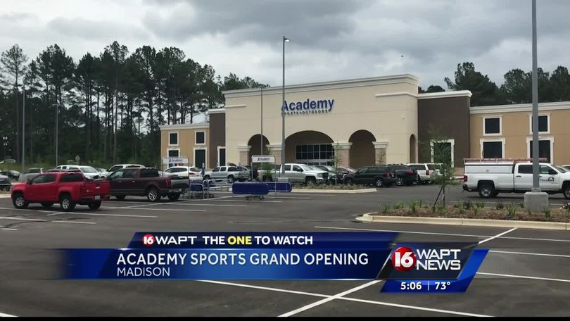 Academy Sports opens in Madison
