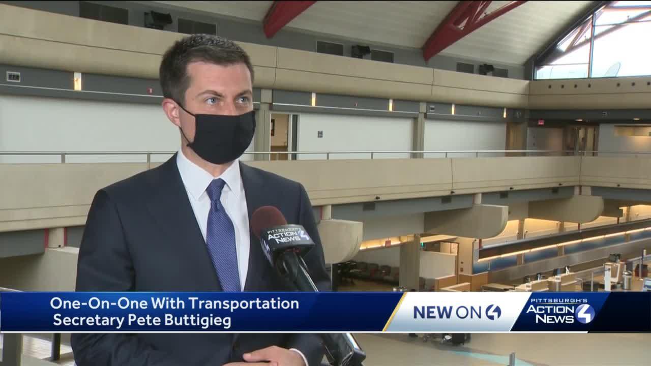 One-on-one with Transportation Secretary Pete Buttigieg