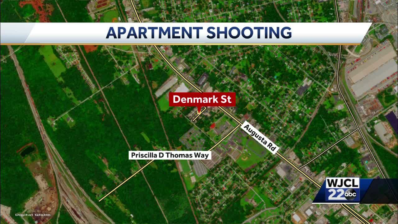 Police: One person shot at Garden City apartment complex