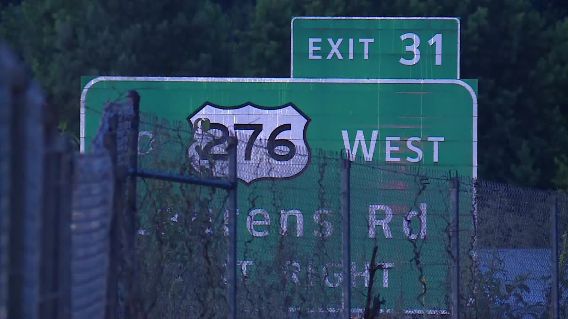 Interstate 385 crash