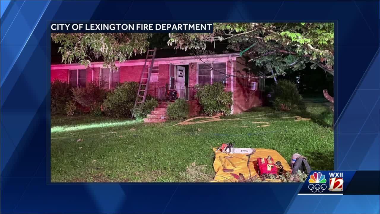 Lexington neighbor helps fight apartment fire with garden hose before fire department arrives