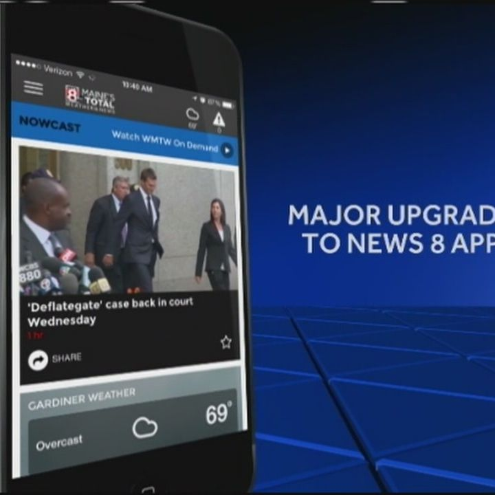 Download newly updated WMTW mobile app