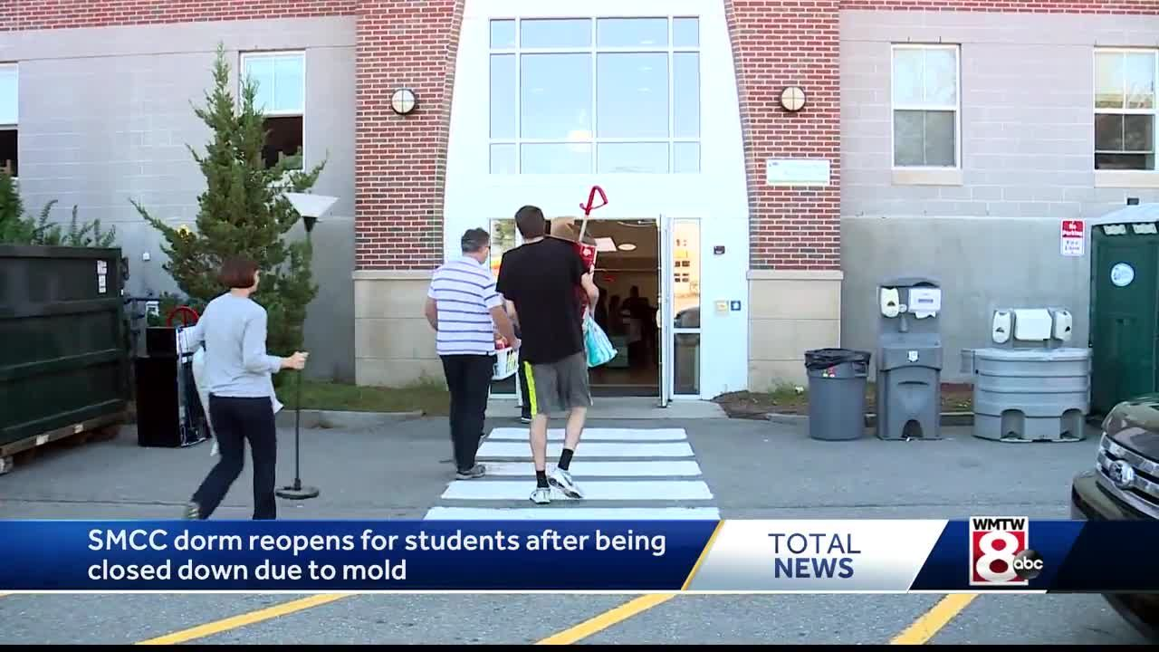 Smcc Students Return To Residence Hall After It Was Closed Due To Mold