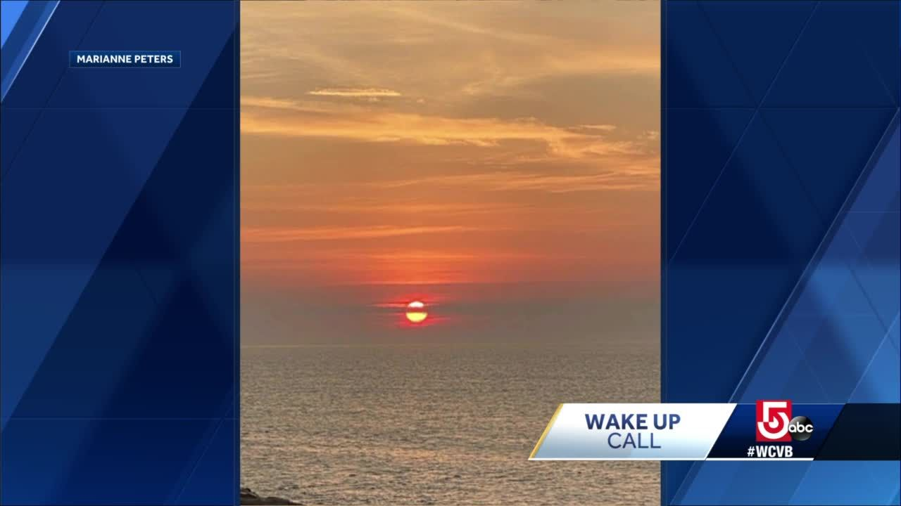 Wake Up Call: Sunrise from Rockport