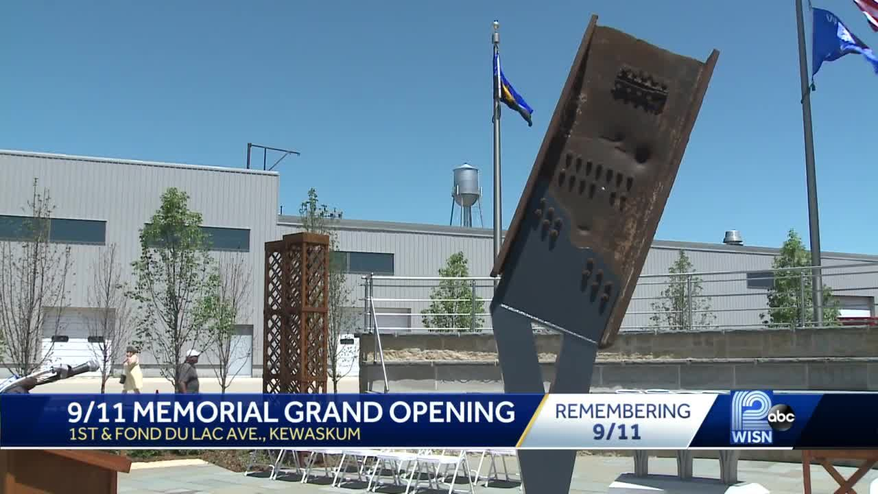 After years of planning, Wisconsin 9/11 Memorial opens