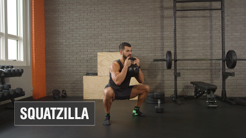 The Squatzilla Challenge: Your Leg Day Nightmare