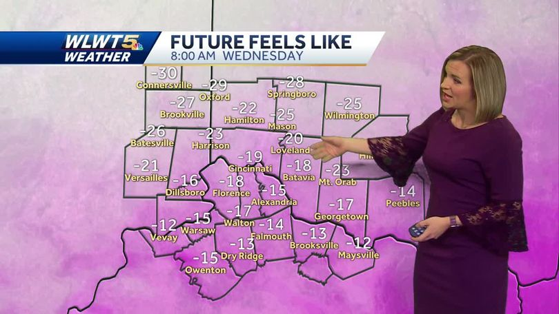 how cold is it going to be? just 30 minutes outside could result in  frostbite