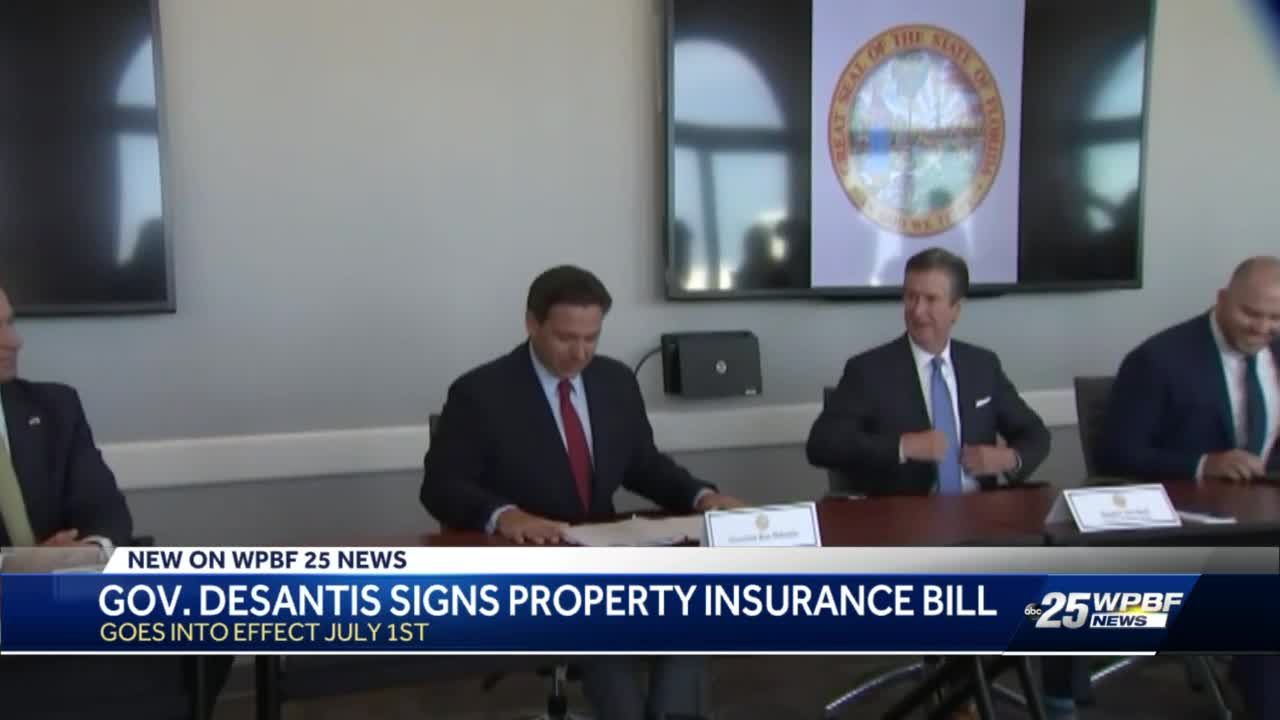Florida Gov. Ron DeSantis signs bill to help homeowners with insurance issues during hurricane season