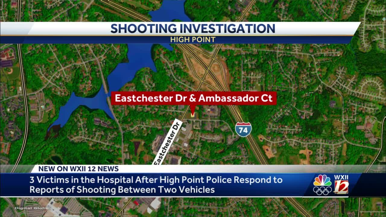 3 people shot at on Eastchester Drive in High Point