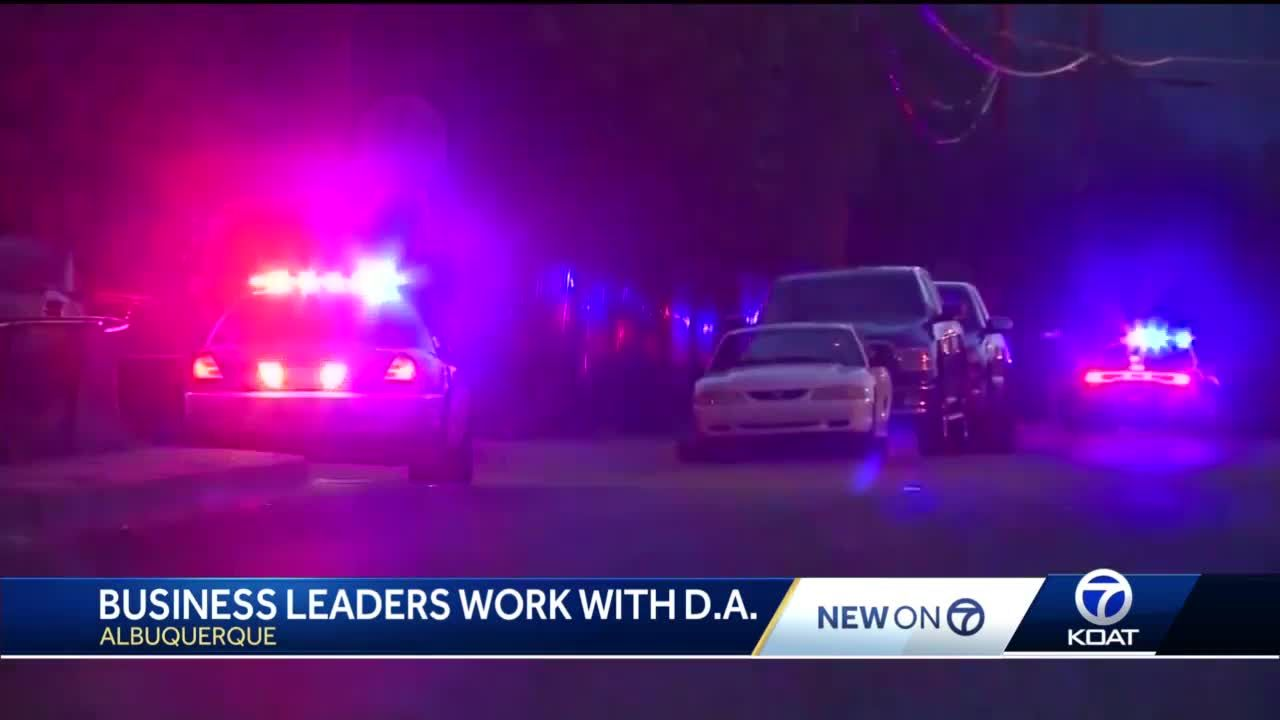 D.A. working with business leaders to address ABQ crime crisis