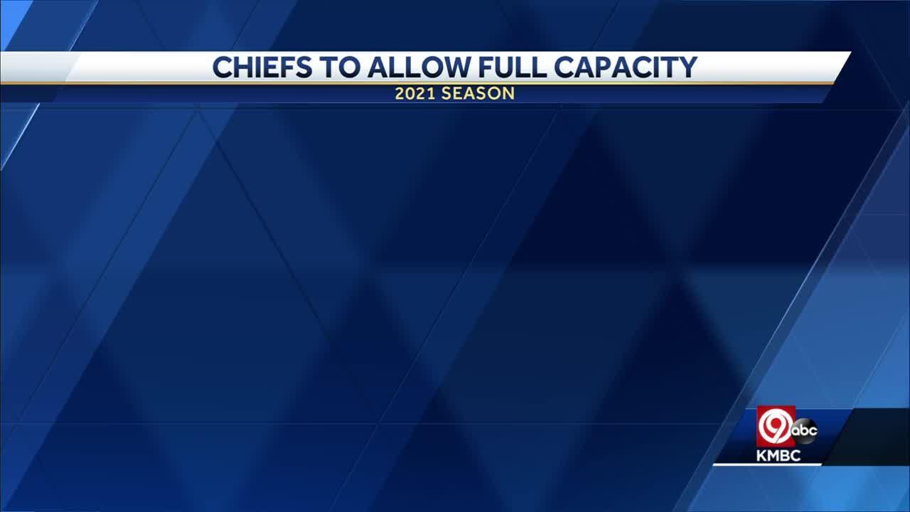 Single-game tickets for a 'full capacity' Arrowhead Stadium go on sale Thursday