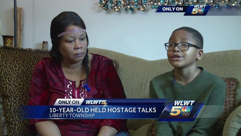 10-year-old hostage recalls 30 hour standoff