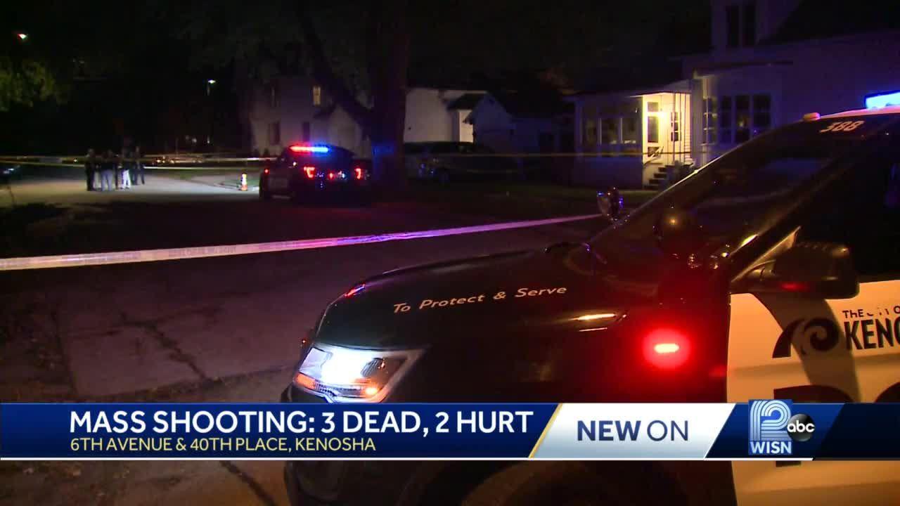 Mass shooting in Kenosha leaves 3 dead, 2 critically injured