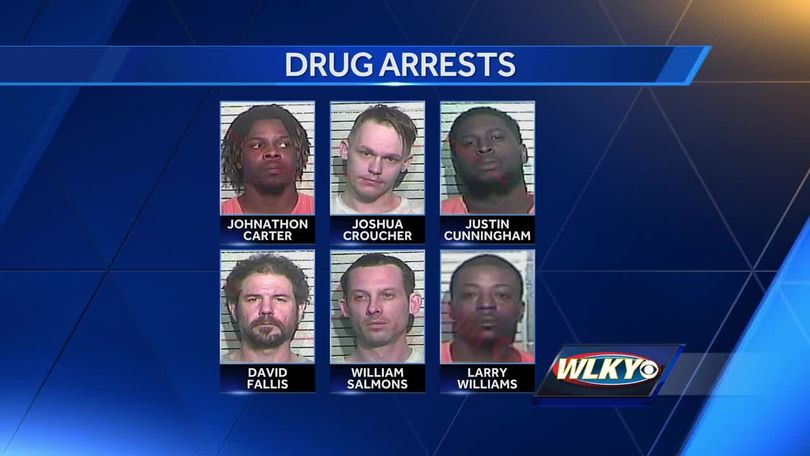 4 drug busts result in 6 arrests in Franklin County