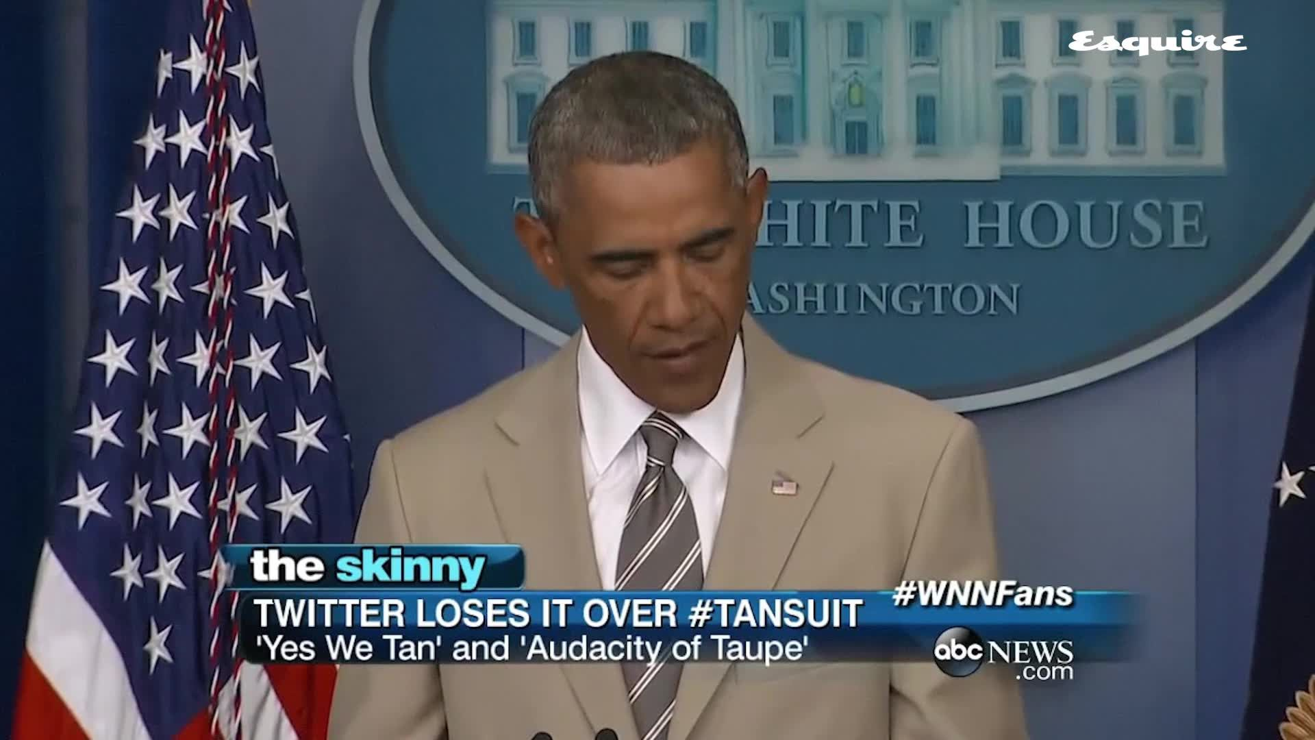 Five Years Later, Obama's Tan Suit 'Controversy' Seems More Ridiculous Than Ever