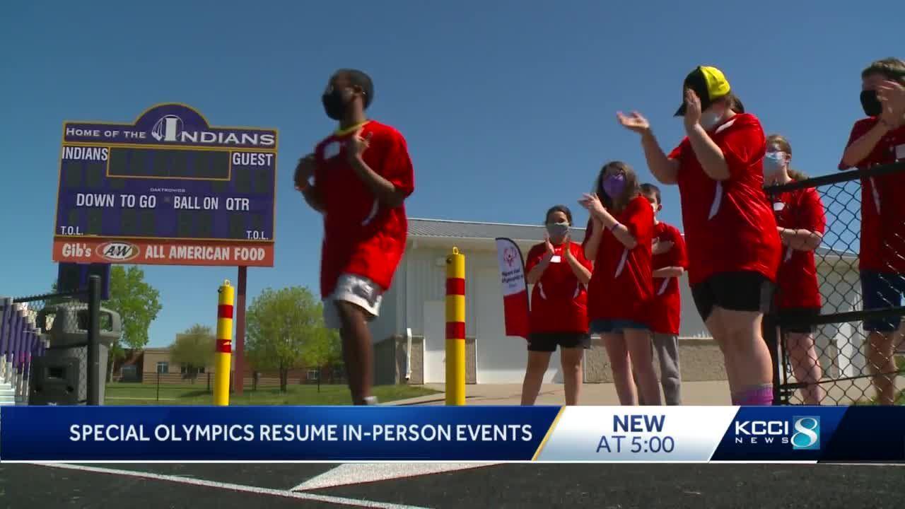 Spring Special Olympic games underway across Iowa