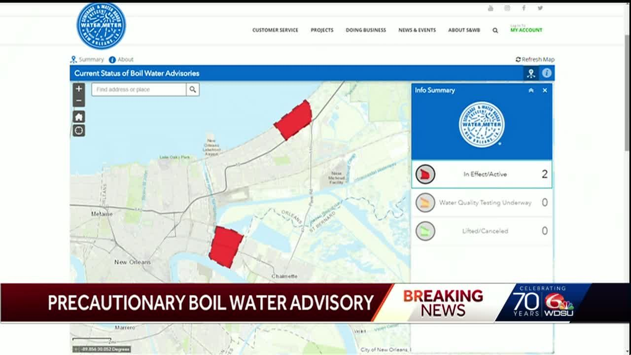 Precautionary Boil Water Advisory