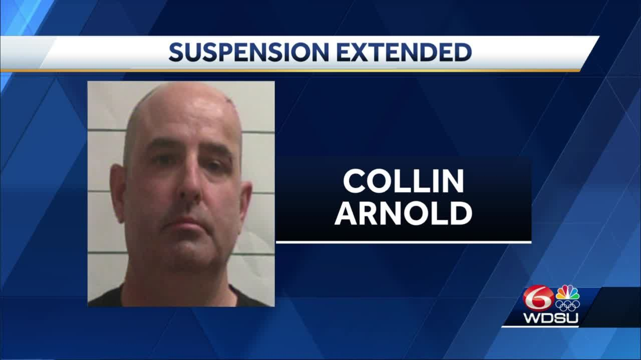 Collin Arnold suspension following drunk-driving arrest extended to 60 days