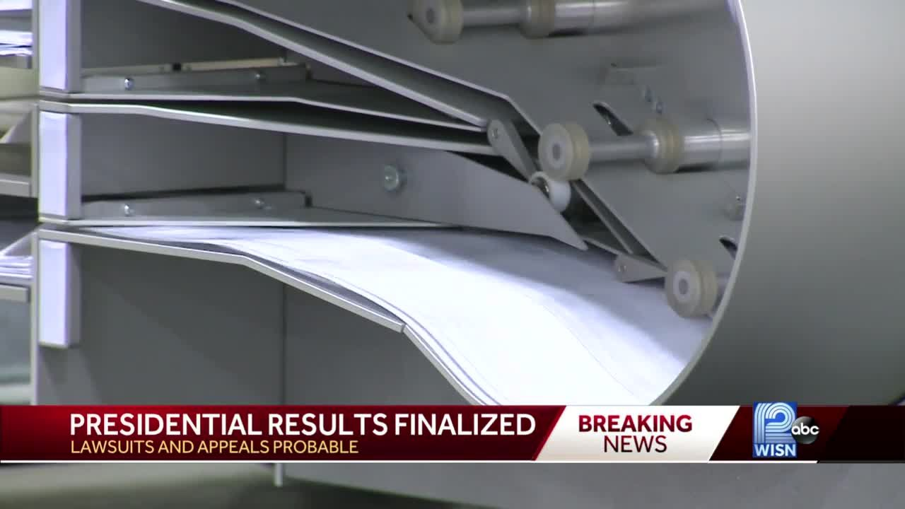 Wisconsin election results finalized