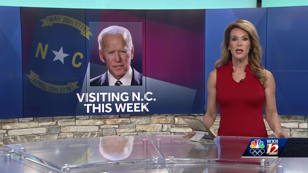President Joe Biden to visit North Carolina this week
