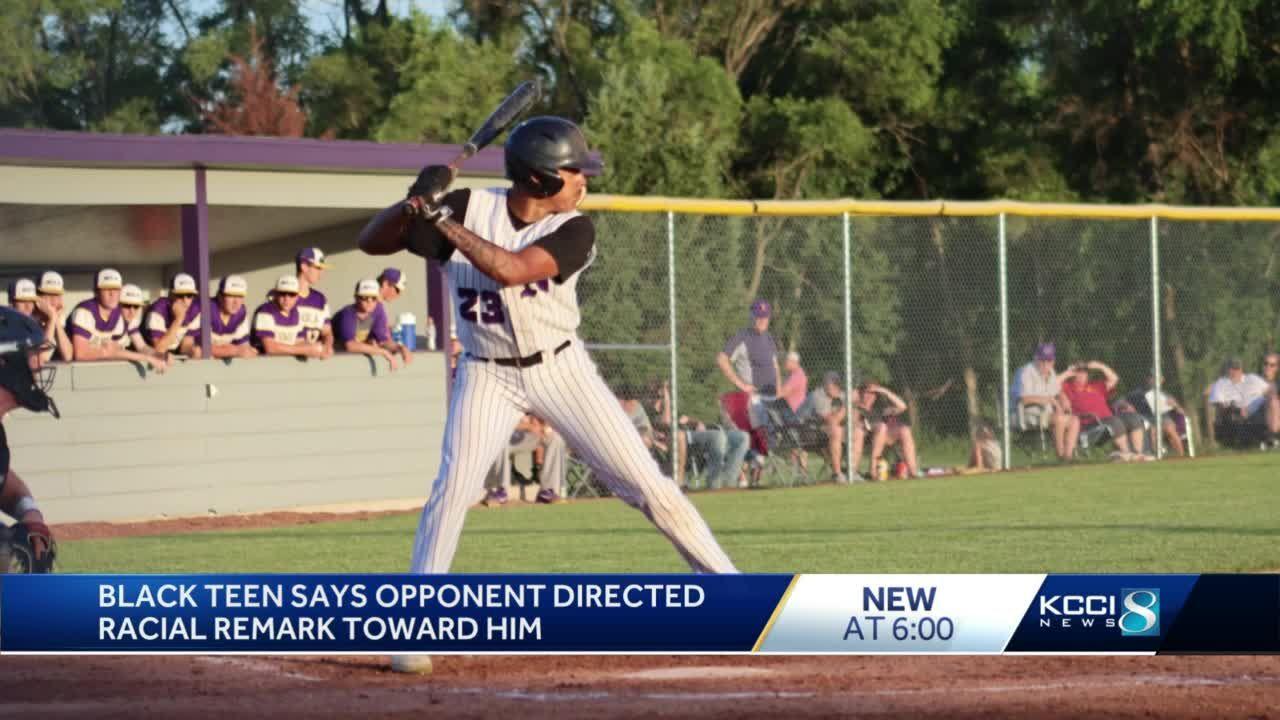 Black teenager says racial slur was directed at him in baseball game