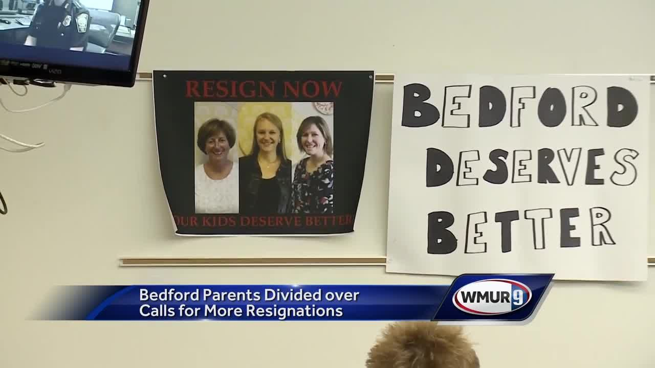 Bedford parents divided over demands for more school staff resignations
