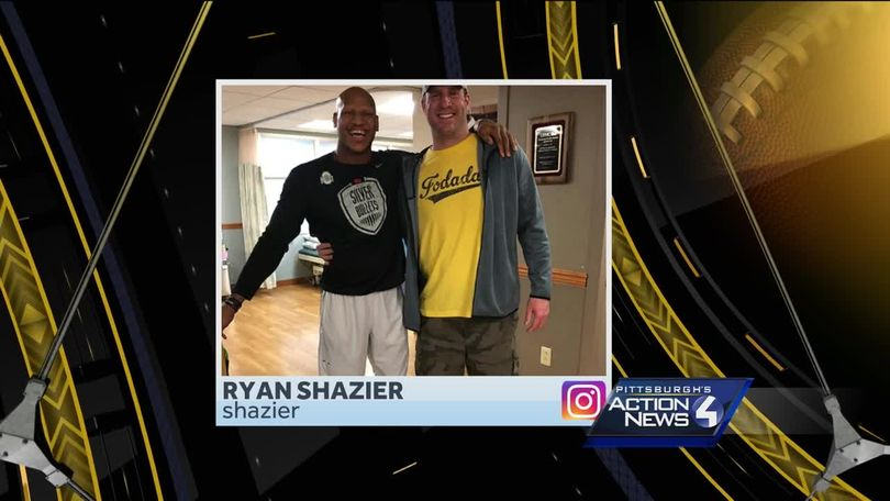 Steelers linebacker Ryan Shazier discharged from UPMC