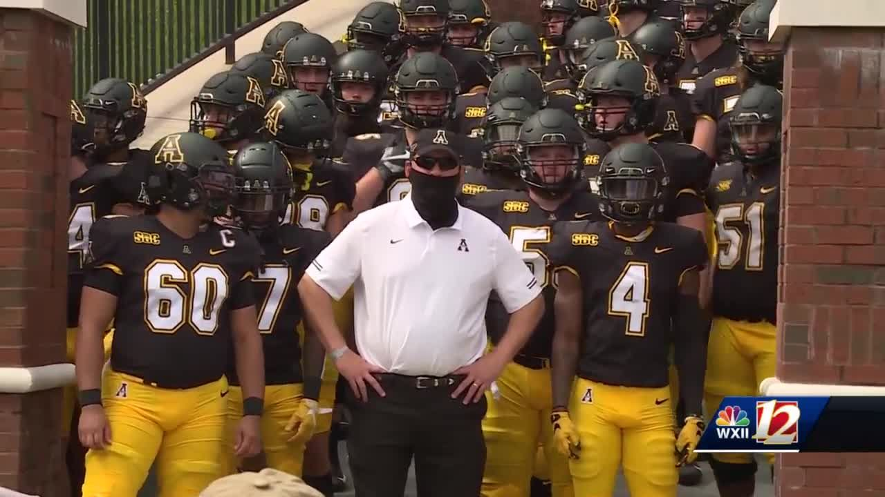 App State battles with the coronavirus to play football