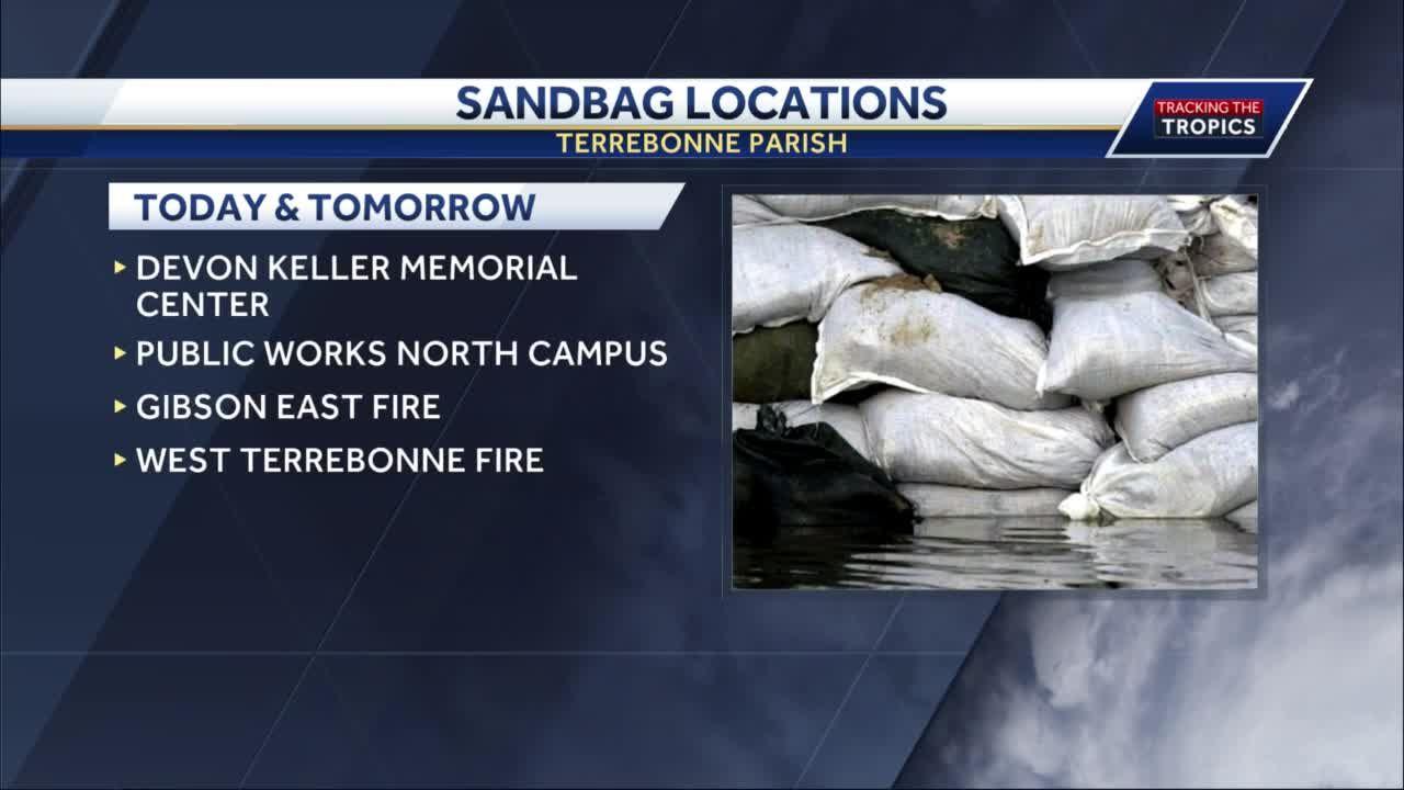 sandbag locations