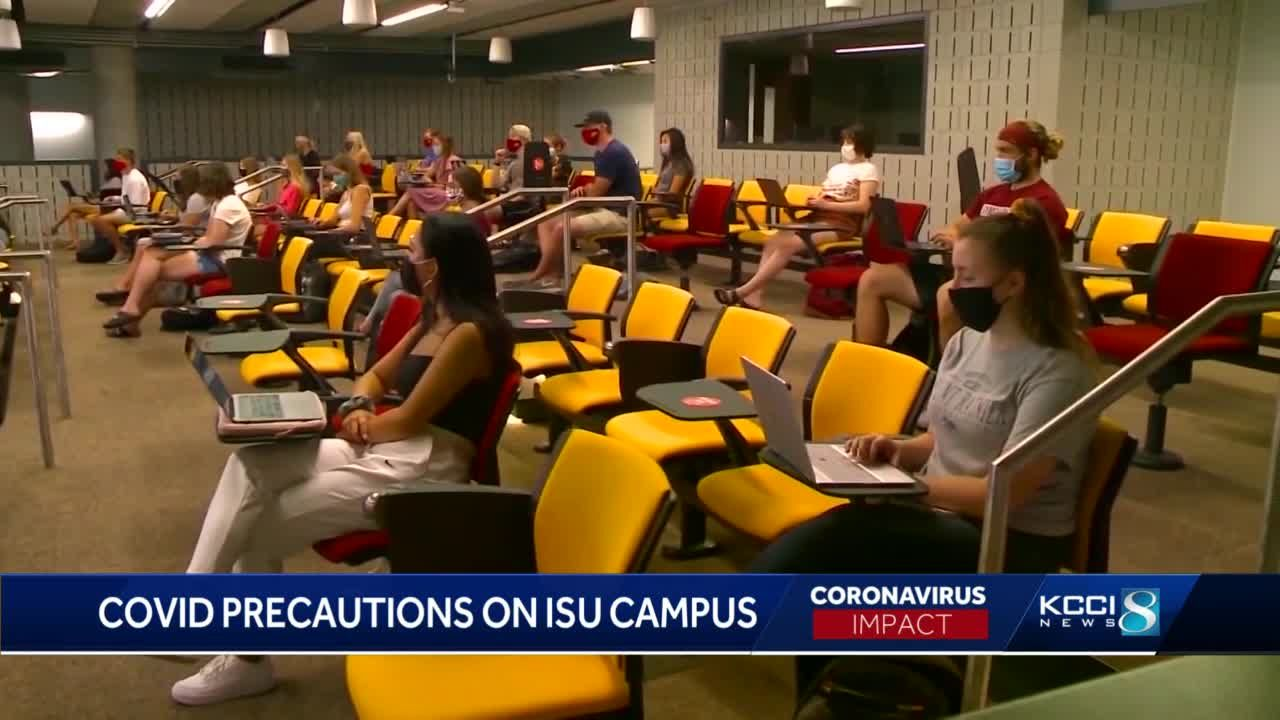 Iowa State's spring semester begins Monday amid pandemic