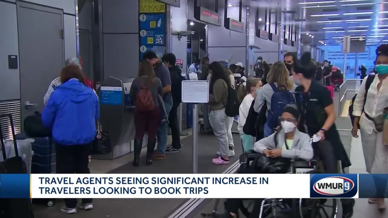 Travel agents seeing significant increase in travelers