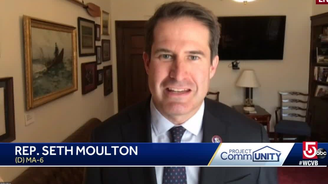 Massachusetts Congressman Seth Moulton shares his experience with PTSD
