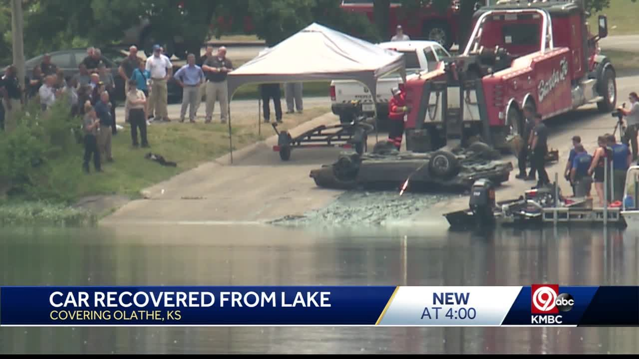 Car pulled from Lake Olathe was reported stolen in 1977