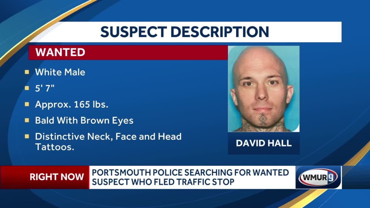 Portsmouth Police continue search for wanted suspect who fled traffic stop