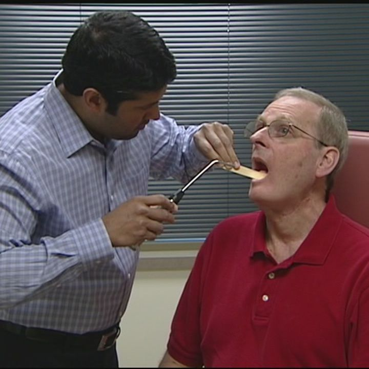 Throat cancer can be easy to detect if you pay attention to